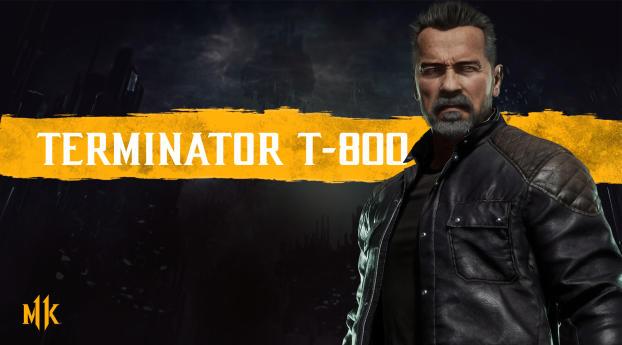 HD Wallpaper | Background Image Terminator In Mortal Kombat 11