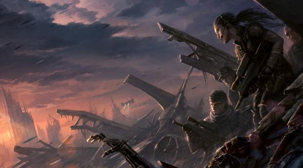 HD Wallpaper | Background Image Terminator Resistance 4K
