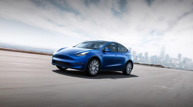 HD Wallpaper | Background Image Tesla Model Y
