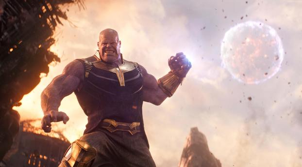 HD Wallpaper | Background Image Thanos From Avengers Infinity War 2018