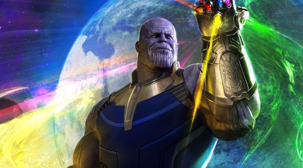HD Wallpaper | Background Image Thanos In Avengers Infinity War