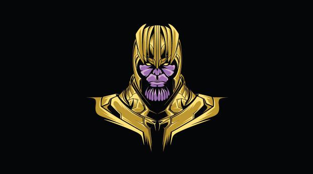 HD Wallpaper   Background Image Thanos Minimal
