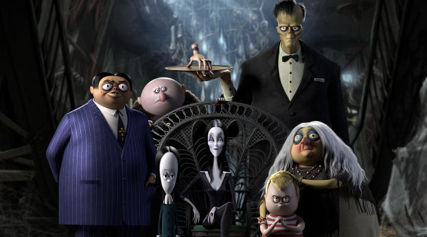 HD Wallpaper | Background Image The Addams Family Mystery Mansion Game