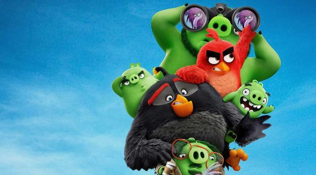 480x854 The Angry Birds 2 Android One Mobile Wallpaper Hd Movies 4k Wallpapers Images Photos And Background