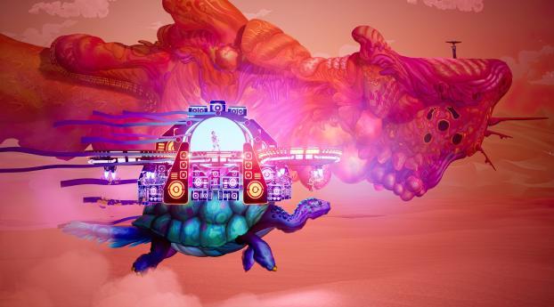 The Artful Escape 2021 Game Wallpaper