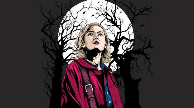 The Chilling Adventures of Sabrina 2018 Artwork 4K Wallpaper