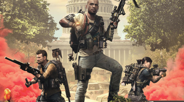 The Division 2 2019 Wallpaper in 1280x800 Resolution