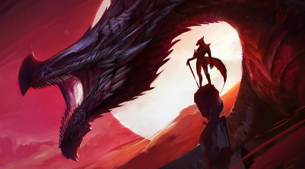 HD Wallpaper | Background Image The Dragon King