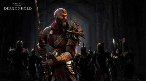 The Elder Scrolls Online Game Wallpaper