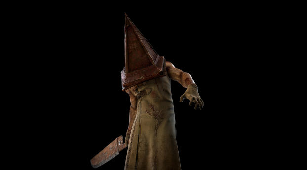 The Executioner Silent Hill Dead by Daylight Wallpaper 320x240 Resolution