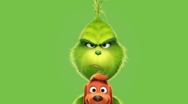HD Wallpaper   Background Image The Grinch 2018 Poster