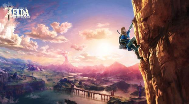 HD Wallpaper | Background Image The Legend of Zelda Breath of the Wild 8K