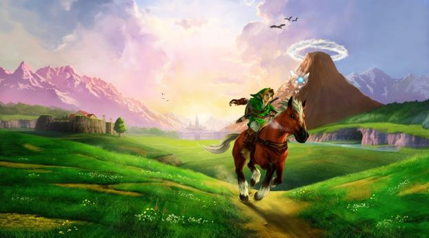 1440x2960 The Legend Of Zelda Horse Plain Samsung Galaxy Note 9 8 S9 S8 S8 Qhd Wallpaper Hd Games 4k Wallpapers Images Photos And Background