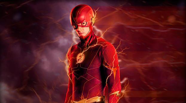 The Lightning Flash 4K Wallpaper 2160x3840 Resolution