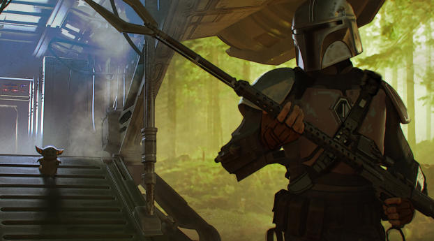 HD Wallpaper | Background Image The Mandalorian Chapter 1