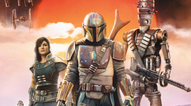 HD Wallpaper | Background Image The Mandalorian Poster