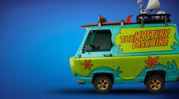 HD Wallpaper | Background Image The Mystery Machine Van Scooby Doo