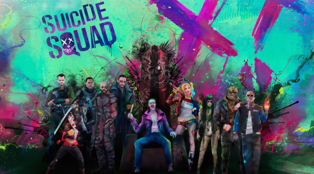 HD Wallpaper | Background Image The Suicide Squad Art