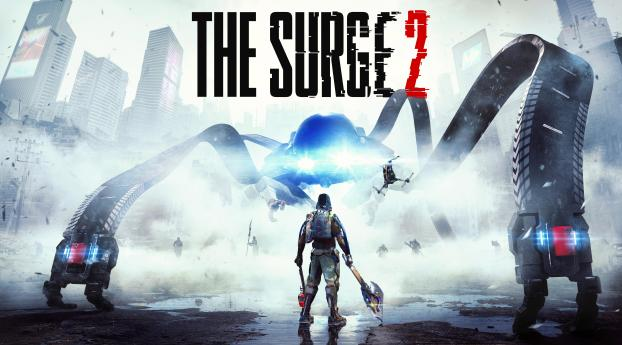 HD Wallpaper | Background Image The Surge 2 Game 4K 8K