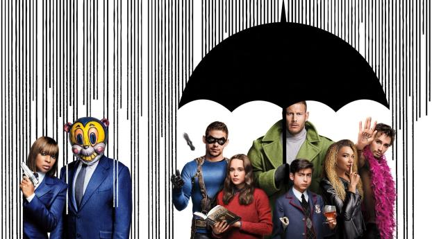 HD Wallpaper | Background Image The Umbrella Academy 2019