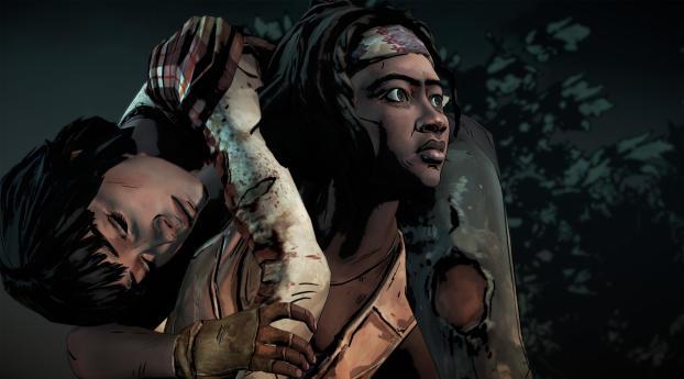 HD Wallpaper | Background Image The Walking Dead The Telltale