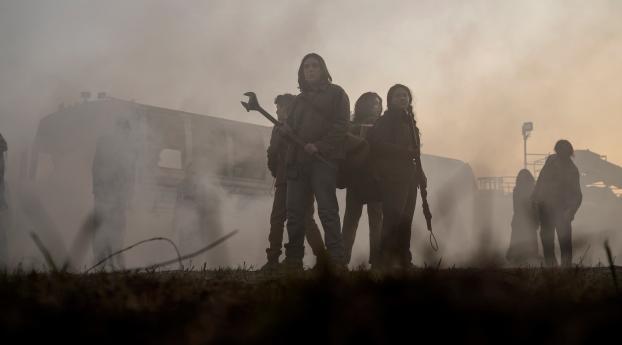 HD Wallpaper | Background Image The Walking Dead World Beyond Stills 2020