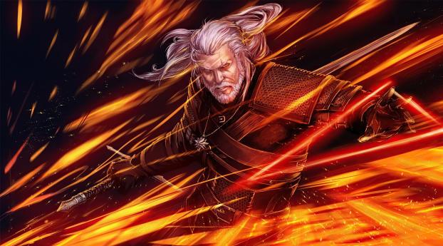 The Witcher 3 Wild Hunt 4k Wallpaper 5120x2880 Resolution