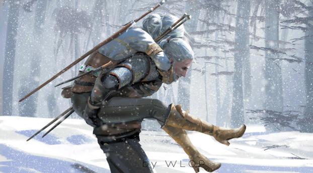 Download The Witcher 3 Wild Hunt Artwork Wallpaper
