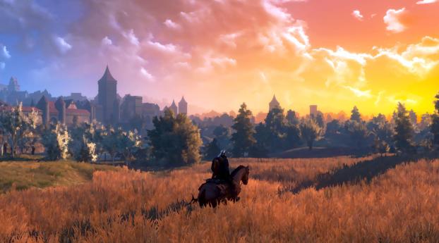 The Witcher III Wild Hunt Screenshoot Wallpaper