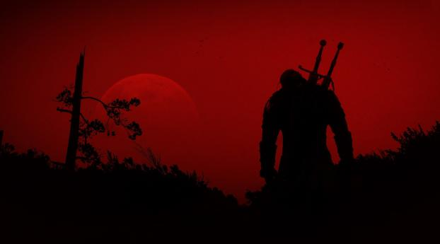 HD Wallpaper | Background Image The Witcher Series Minimal