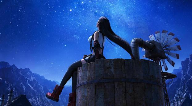 Tifa Lockhart Final Fantasy 7 Remake Wallpaper