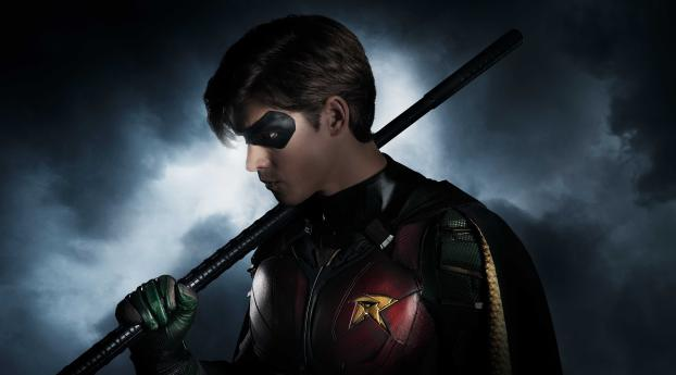 HD Wallpaper   Background Image Titans Poster Brenton Thwaites As Robin