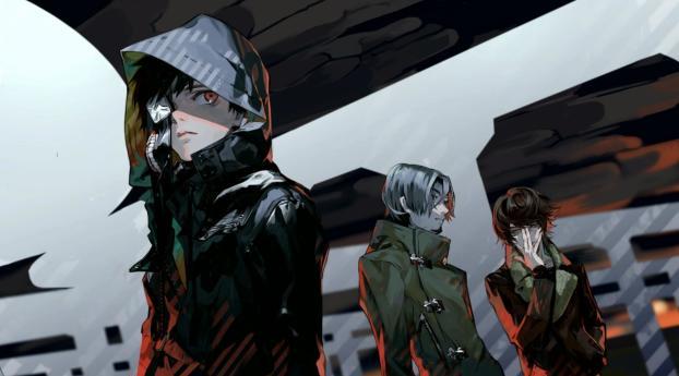 240x400 Tokyo Ghoul Kaneki Ken Guys Acer E100huawei