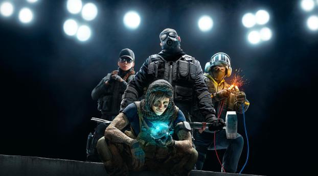 HD Wallpaper | Background Image Tom Clancy's Rainbow Six Siege