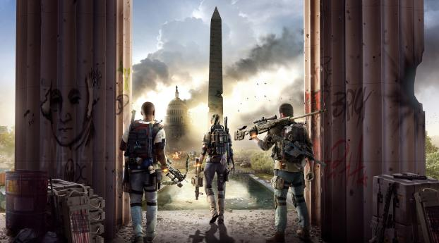 Tom Clancys The Division 2 Wallpaper in 2880x1800 Resolution