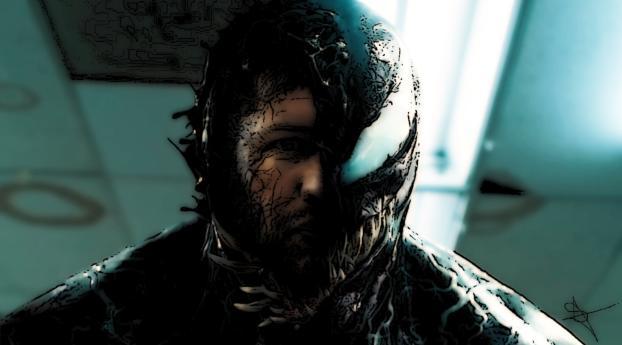 HD Wallpaper | Background Image Tom Hardy Venom Artistic