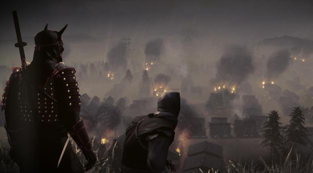 HD Wallpaper | Background Image Total War Saga Fall of the Samurai