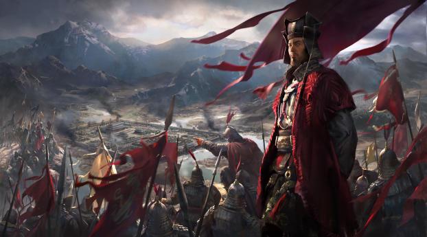 HD Wallpaper | Background Image Total War Three Kingdoms