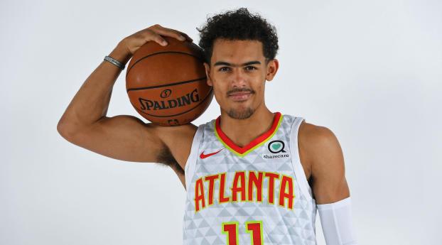 Trae Young Atlanta Hawks Photoshoot Wallpaper