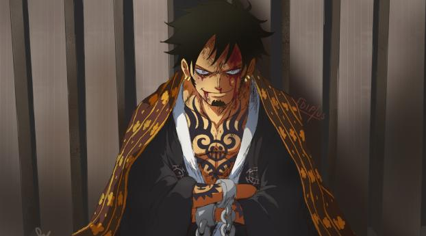 Trafalgar Law In One Piece Wallpaper in 640x1136 Resolution