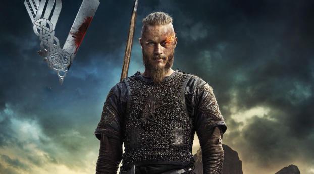 HD Wallpaper | Background Image Travis Fimmel In Vikings
