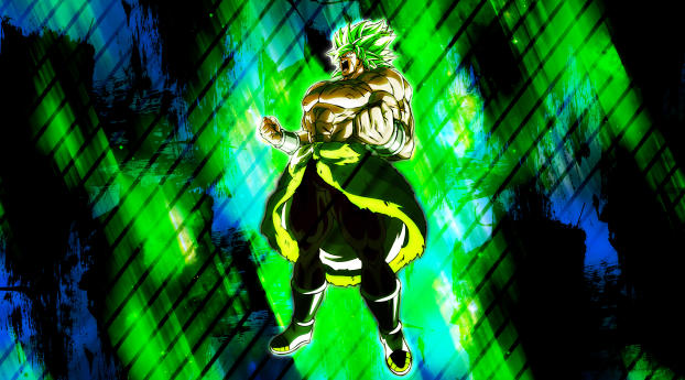 Unstoppable Broly 4K Wallpaper in 540x960 Resolution