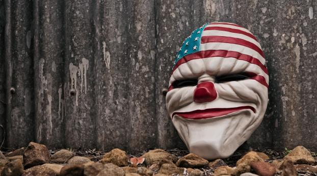 HD Wallpaper | Background Image USA Evil Mask