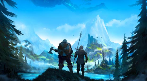 Valheim Game Wallpaper