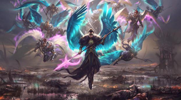 Valkyries Magic The Gathering Wallpaper