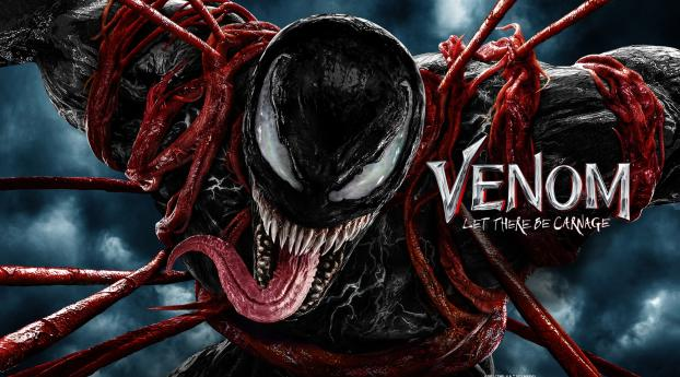 Venom 2 Let There Be Carnage New Poster Wallpaper