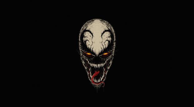 HD Wallpaper | Background Image Venom Minimal Art