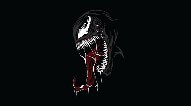 HD Wallpaper | Background Image Venom Minimal