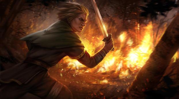 Vinland Saga Warrior Art Wallpaper, HD Fantasy 4K ...