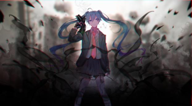 HD Wallpaper   Background Image Vocaloid Hatsune Miku 2019